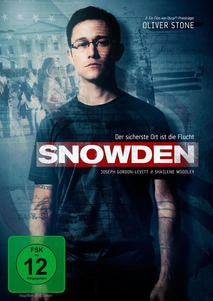 Snowden als DVD