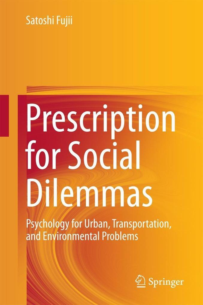 Prescription for Social Dilemmas als eBook Down...
