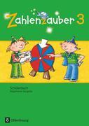 Zahlenzauber 3. Schuljahr - Allgemeine Ausgabe - Schülerbuch mit Kartonbeilagen