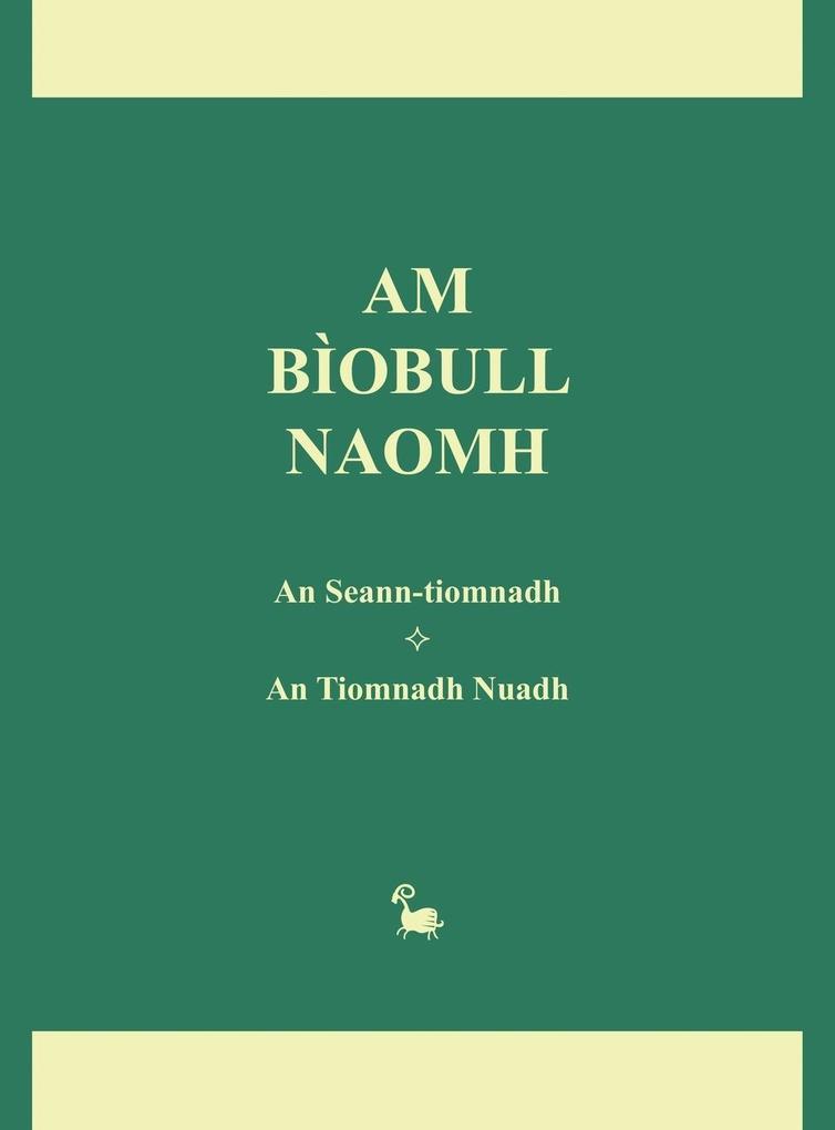 Am Biobull Naomh als Buch