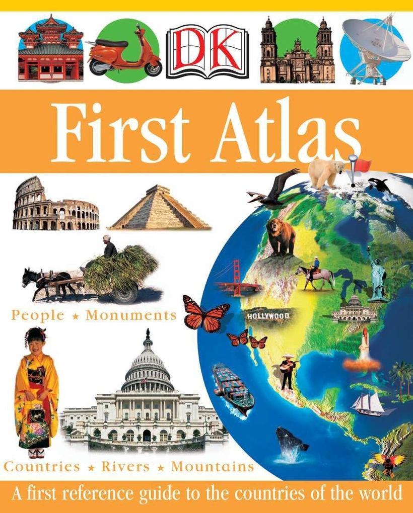 DK First Atlas als Buch