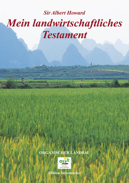 Mein landwirtschaftliches Testament als Buch
