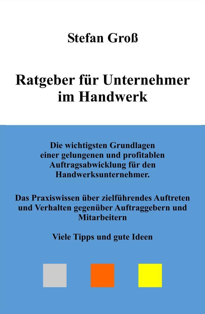 Ratgeber für Unternehmer im Handwerk als eBook ...