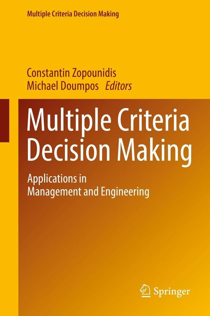 Multiple Criteria Decision Making als eBook Dow...