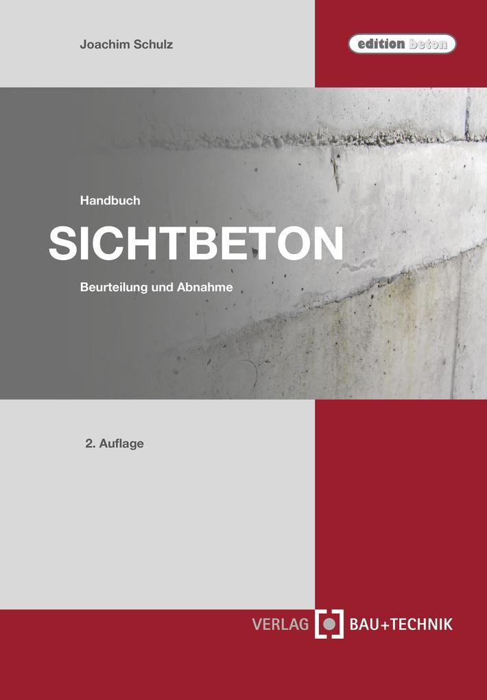 Handbuch Sichtbeton als Buch