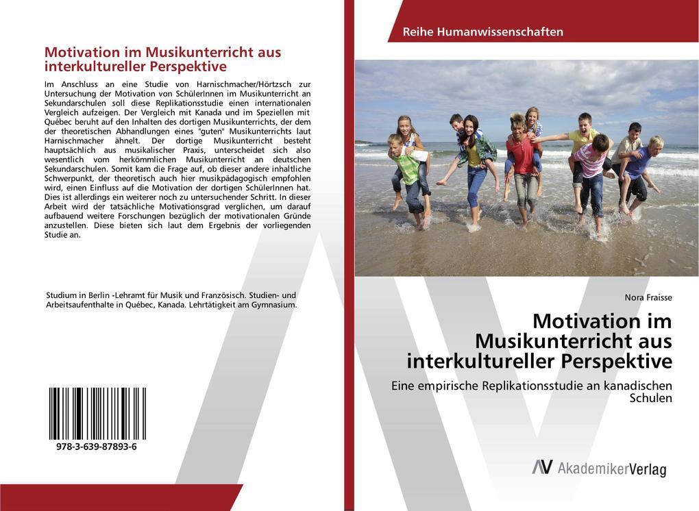 Motivation im Musikunterricht aus interkulturel...