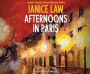 AFTERNOONS IN PARIS     M