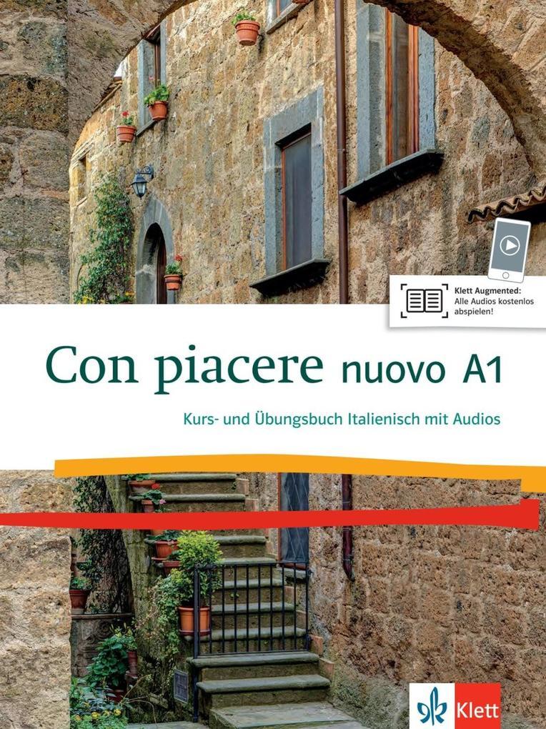 Con piacere nuovo A1. Kurs- und Übungsbuch + 2 CDs als Buch