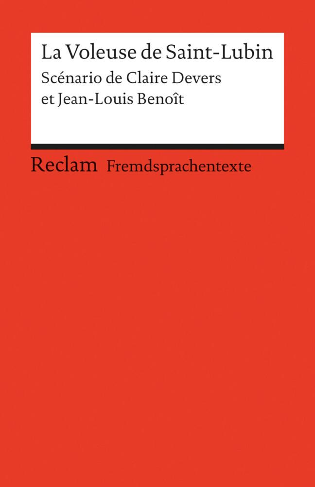 La Voleuse de Saint-Lubin als Taschenbuch