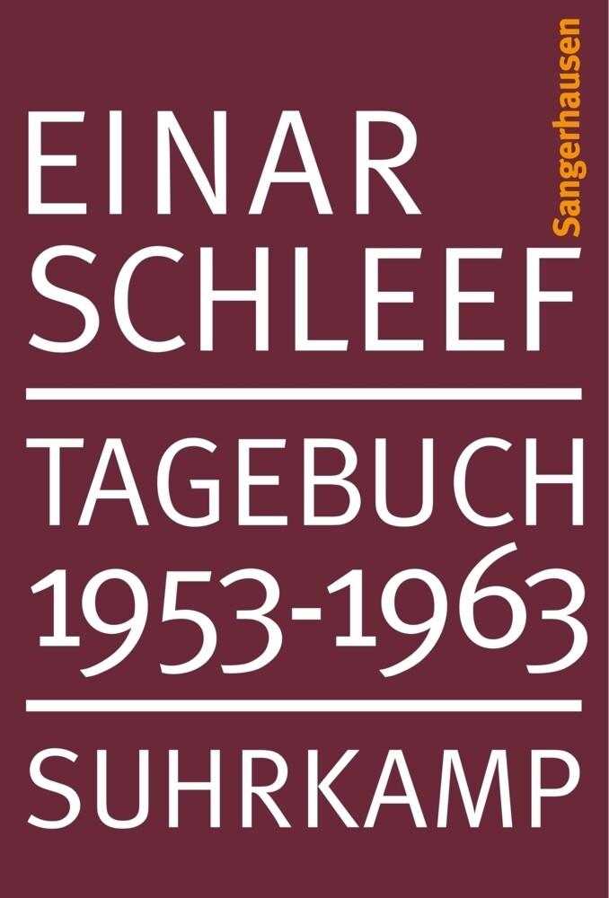 Tagebuch 1953 - 1963 Sangerhausen als Buch
