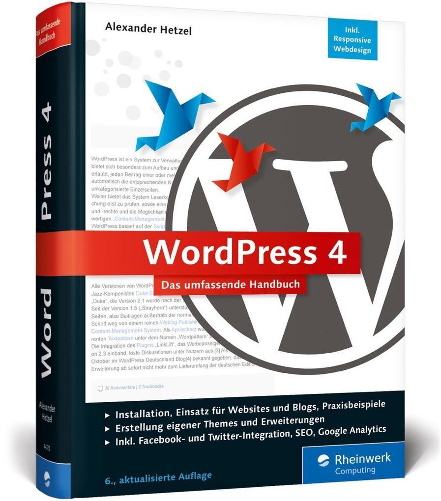 WordPress 4 als Buch von Alexander Hetzel