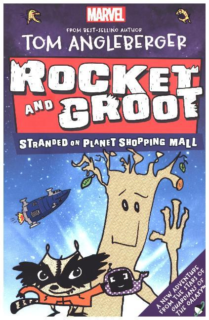Marvel Rocket and Groot: Stranded on Planet Sho...