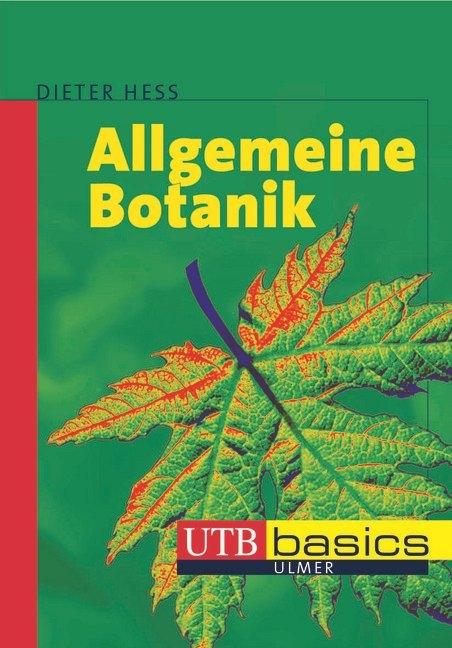 Allgemeine Botanik als Buch