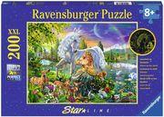 Ravensburger 13673 - Star Line, Magische Begegnung, Puzzle, 200 Teile, XXL Format