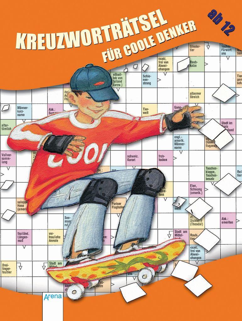 Kreuzworträtsel für coole Denker als Buch