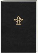 Die Bibel. Lederausgabe schwarz mit Goldschnitt und Familienchronik