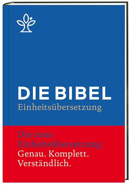 Die Bibel (blau) als Buch