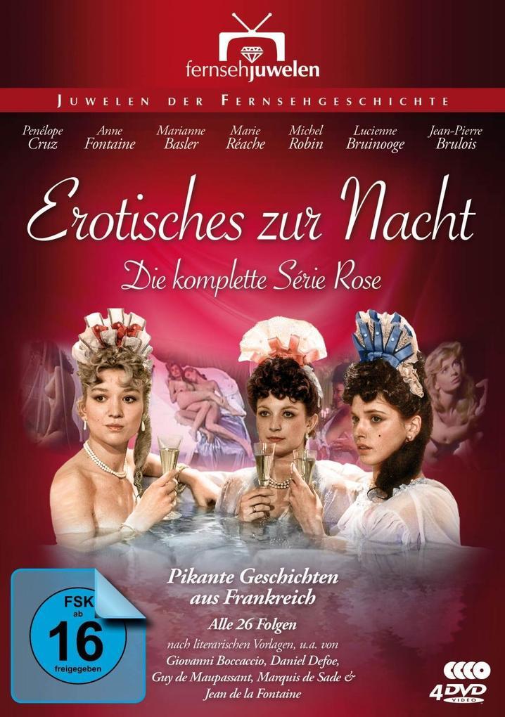 Erotisches zur Nacht - Die komplette Série Rose (DVD)