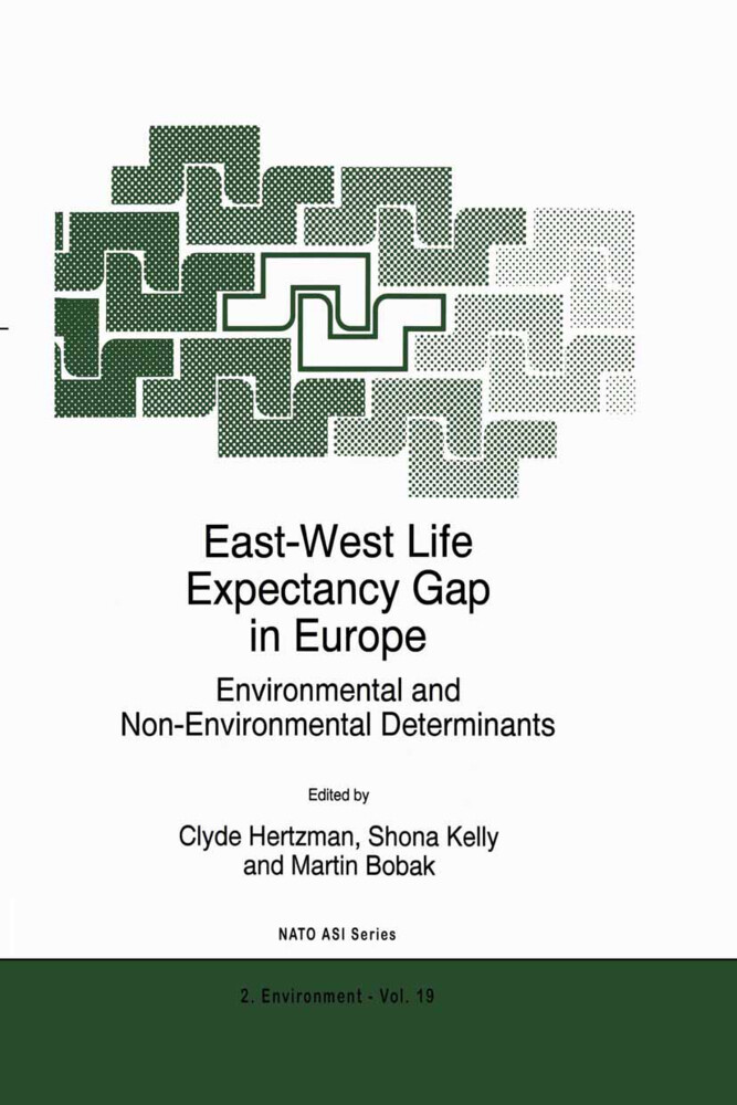 East-West Life Expectancy Gap in Europe als Buch