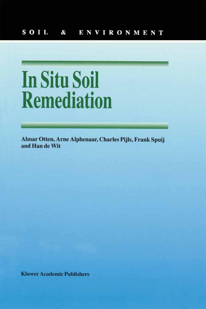 In Situ Soil Remediation als Buch