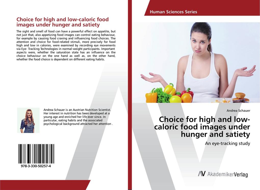Choice for high and low-caloric food images und...