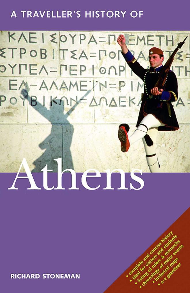 A Traveller's History of Athens als Taschenbuch