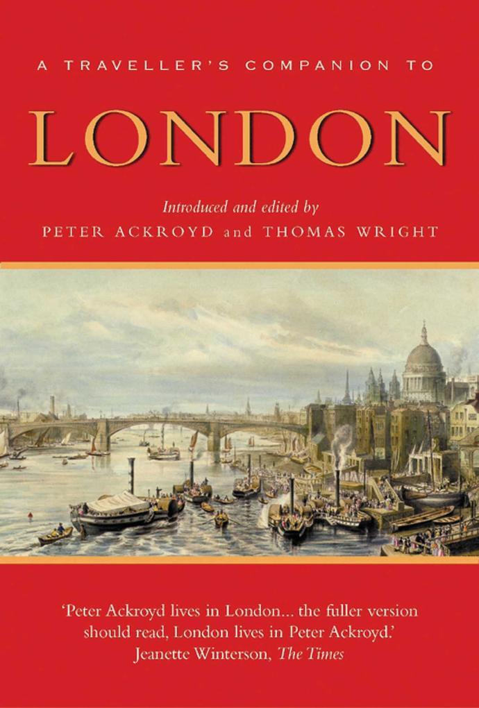 A Traveller's Companion to London als Taschenbuch