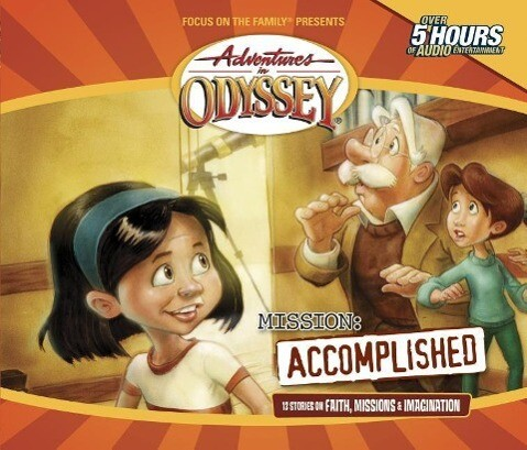 Mission: Accomplished: Terrific Tales, Mysterious Missions als Hörbuch