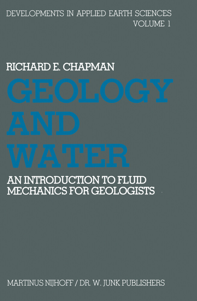 Geology and Water als Buch