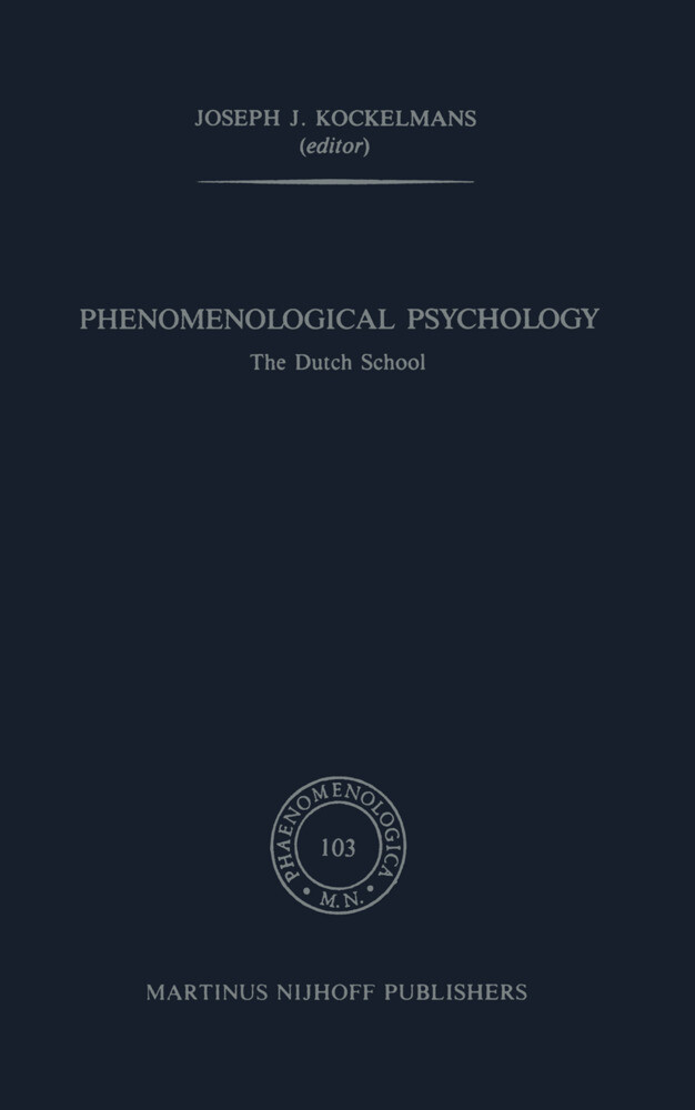 Phenomenological Psychology als Buch