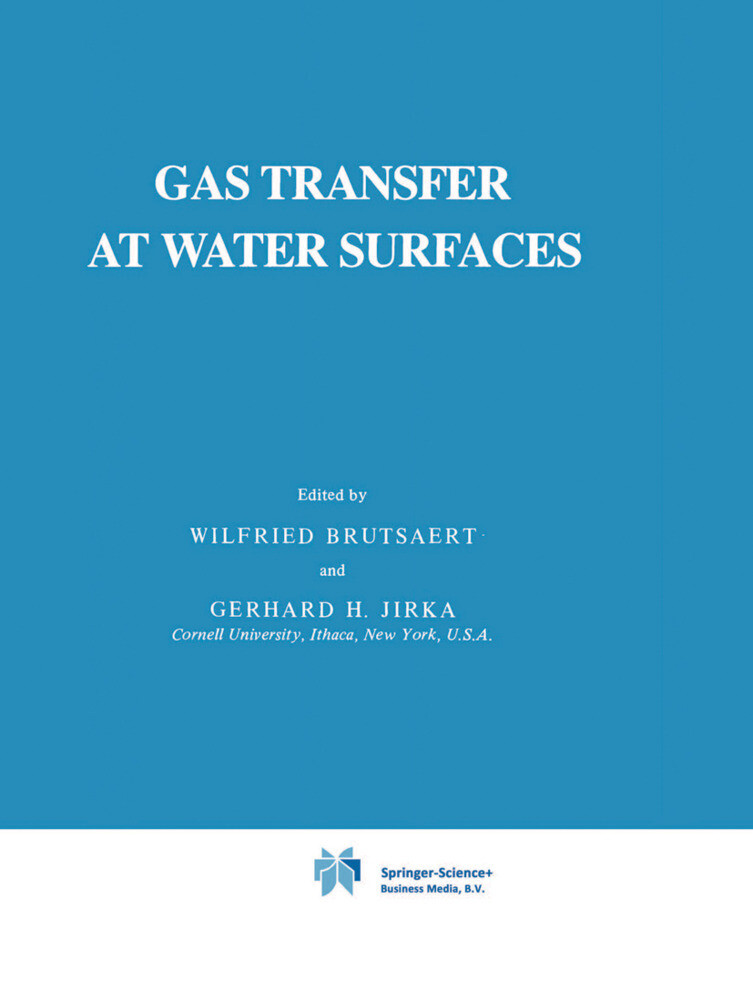Gas Transfer at Water Surfaces als Buch