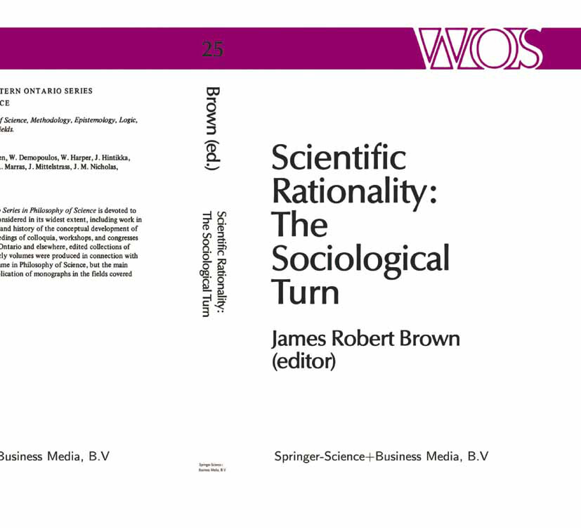 Scientific Rationality: The Sociological Turn als Buch