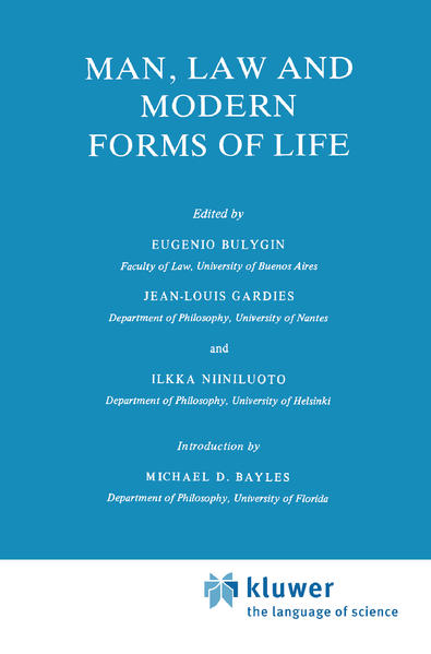 Man, Law and Modern Forms of Life als Buch (gebunden)