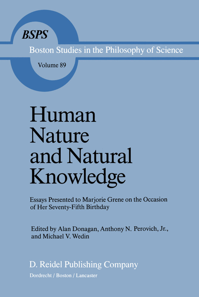 Human Nature and Natural Knowledge als Buch