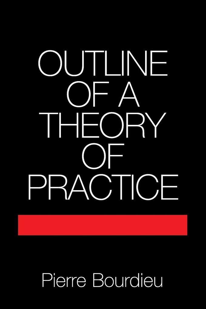 Outline of a Theory of Practice als Buch