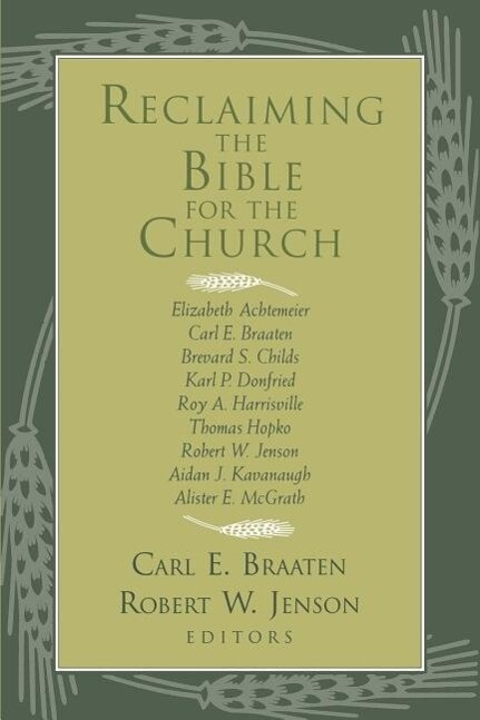 Reclaiming the Bible for the Church als Taschenbuch