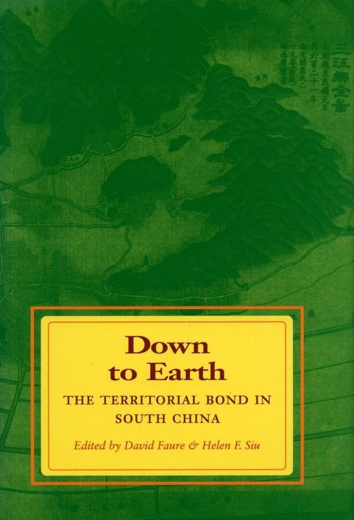 Down to Earth: The Territorial Bond in South China als Taschenbuch