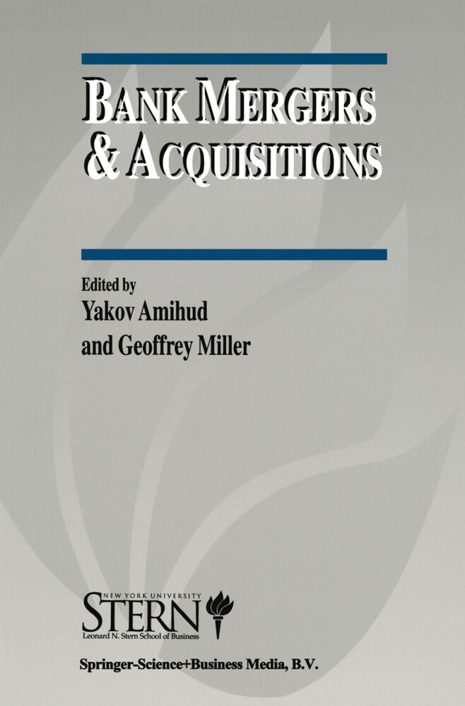 Bank Mergers & Acquisitions als Buch