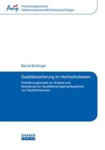 Qualitätssicherung im Hochschulwesen als Buch v...
