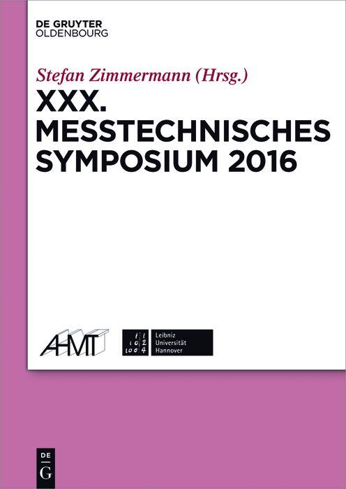 XXX. Messtechnisches Symposium als eBook Downlo...