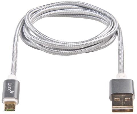 tolino Zubehör - easy2connect Reversible USB Kabel als Hardware