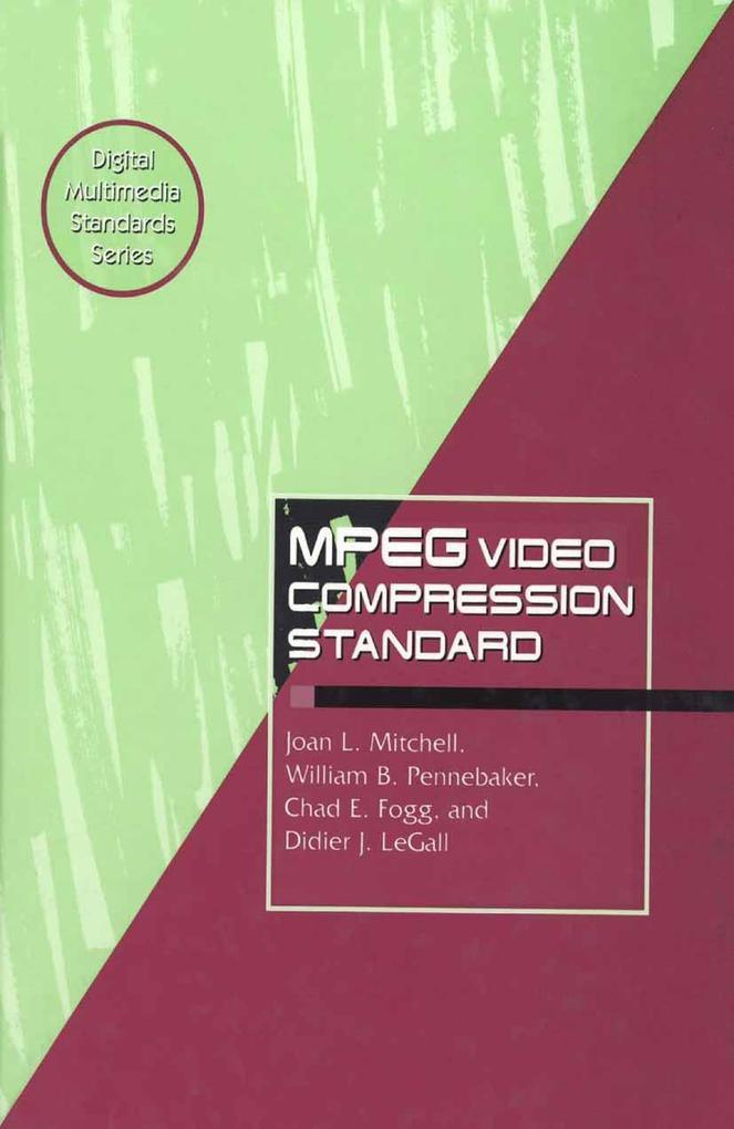 MPEG Video Compression Standard als Buch (gebunden)