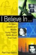 I BELIEVE IN als Buch
