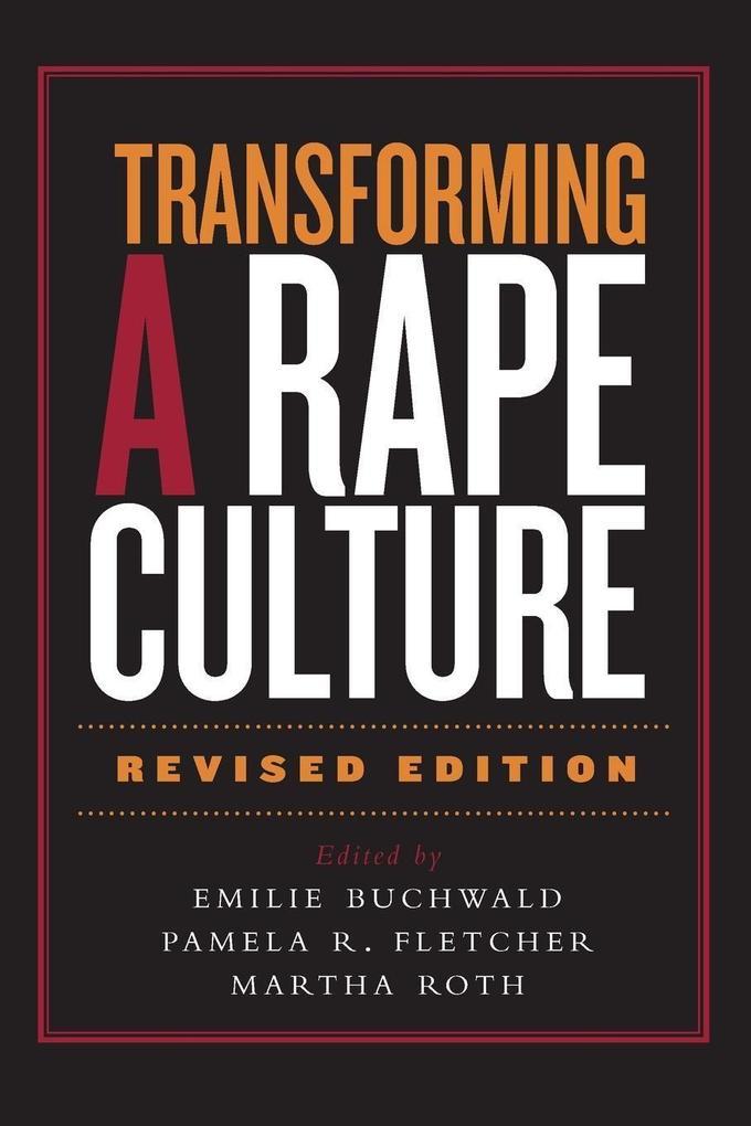Transforming a Rape Culture als Taschenbuch