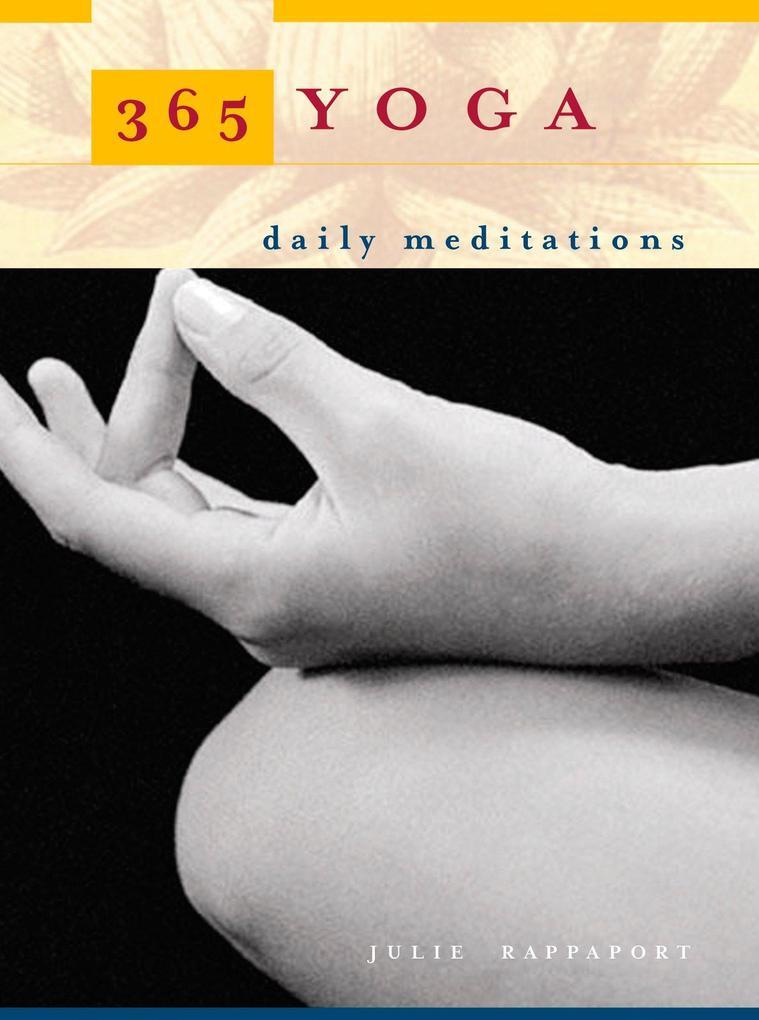 365 Yoga als Taschenbuch