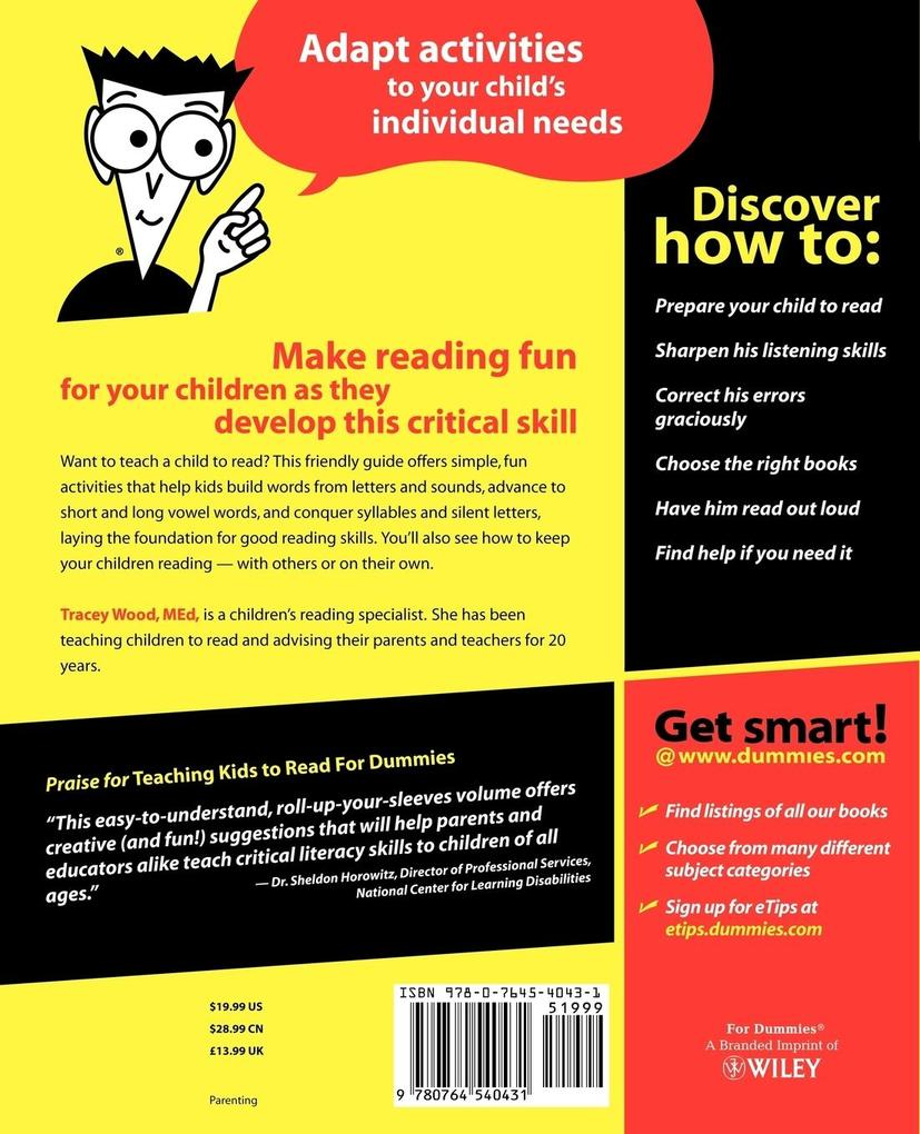 Teach Kids to Read For Dummies als Buch