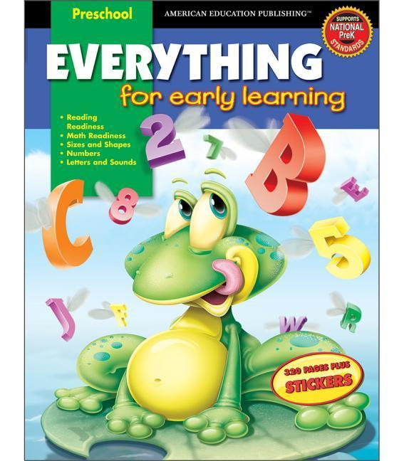 Everything for Early Learning [With Stickers] als Buch