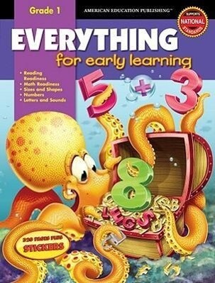 Everything for Early Learning, Grade 1 [With Stickers] als Buch