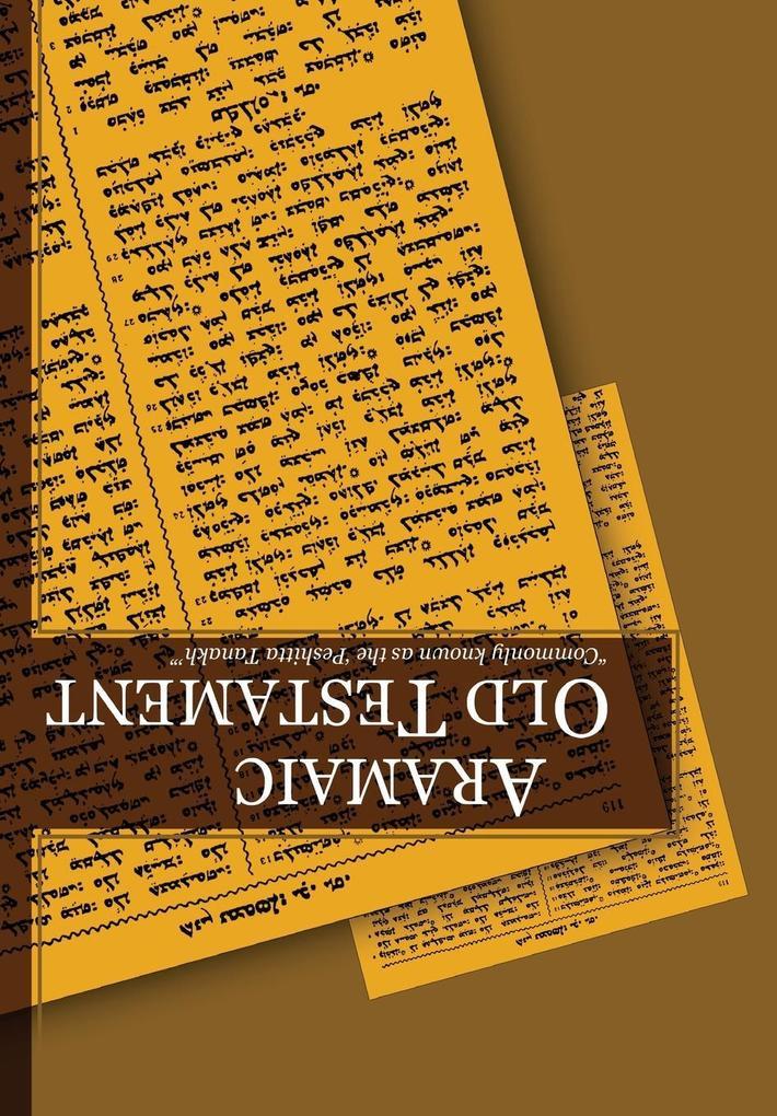 Aramaic Old Testament-FL als Taschenbuch