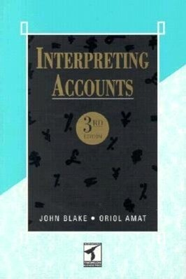 Interpreting Accounts als Buch